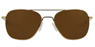 Randolph Aviator Polar - T58 23K Gold Plaqued Tan Polarized Lens