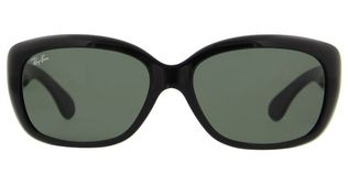 Ray Ban RB4101 Jackie Ohh - T58 Black Crystal Gray Mirror Lens