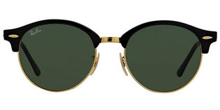 Ray Ban RB4246 Clubround - T51 Black Green Lens