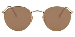 Ray Ban RB3447N - T50 GOLD 001 Brown Mirror Pink
