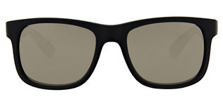 Ray Ban RB4165 Justin - T51 RUBBER BLACK Brown lenses
