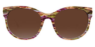 Thierry Lasry Axxxexxxy - T56 Rose Camo Brown Gradient Lens